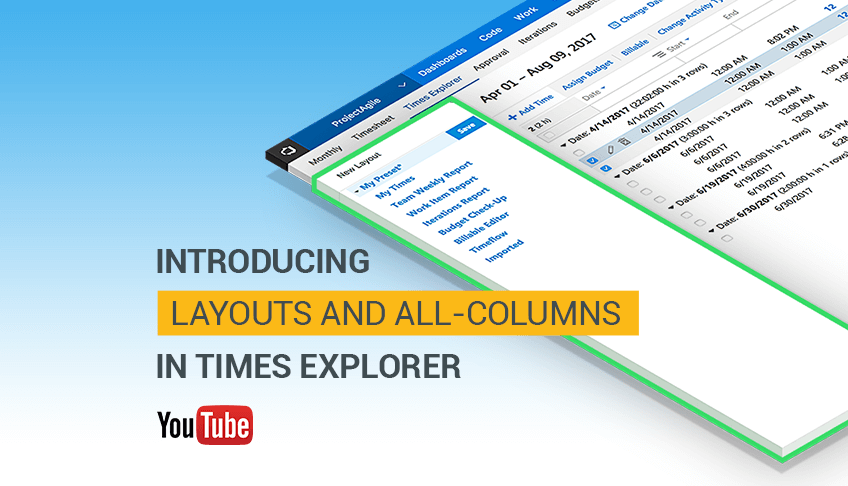 Introducing Layouts and All Columns from VSTS/TFS in Times