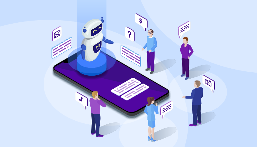 Chatbots are a basic form of AI that is already interacting with customers, prospects, and more.