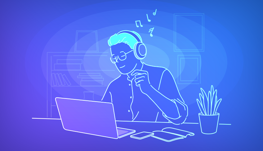 Here's What Science Says About How Music Affects Your Productivity