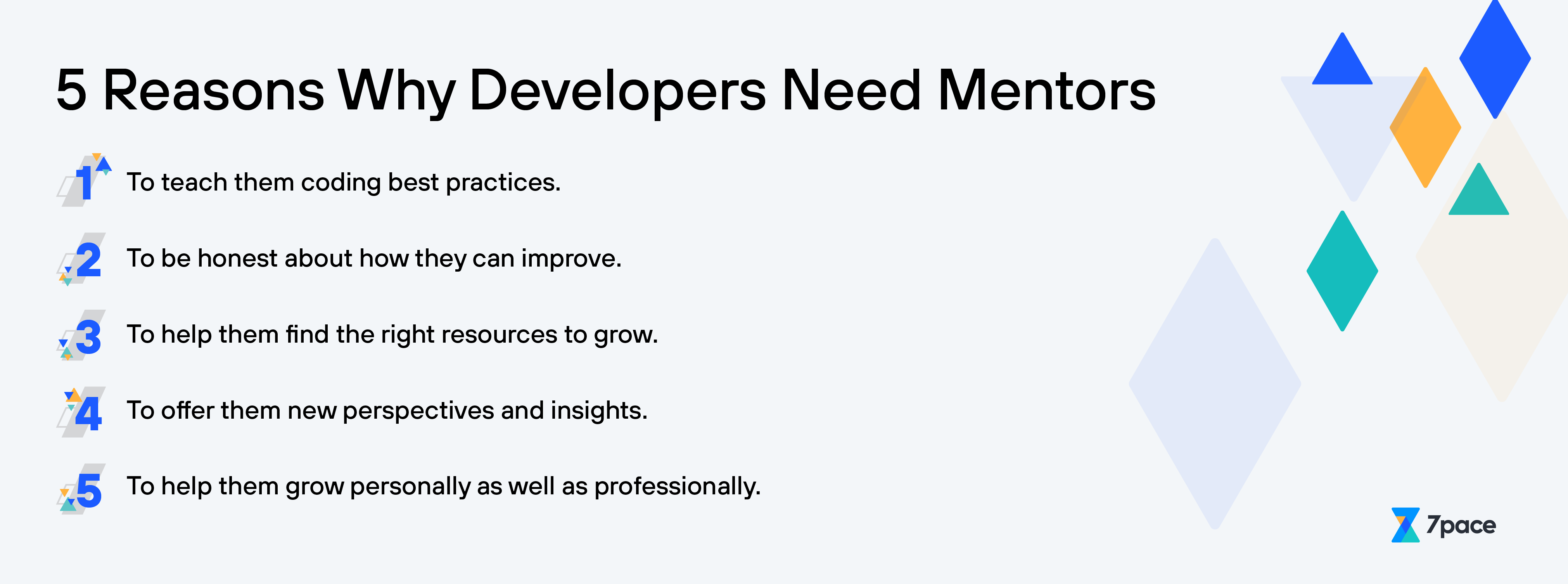 5 Reasons Why Developers Need Mentors