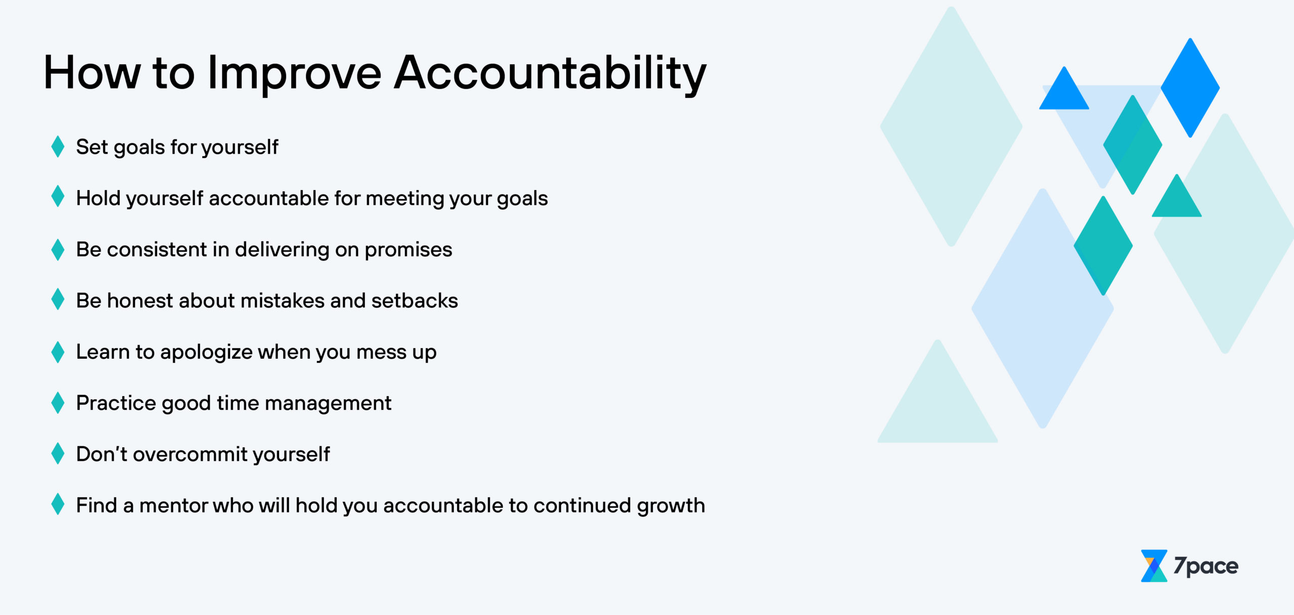 How to Learn and Improve Accountability